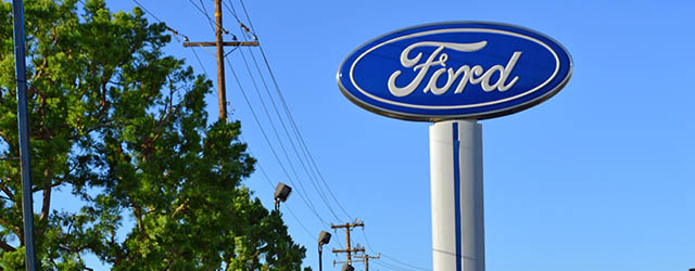 Ford Dealership Sign