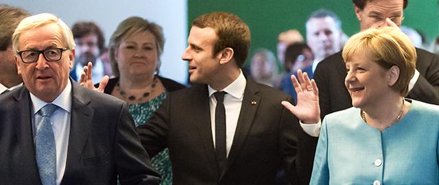 French President Macron Takes Diplomatic Lead