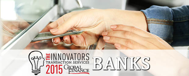 the innovators 2015 - bank winners