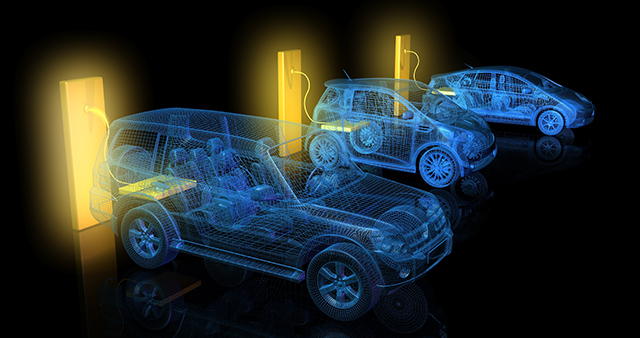 Lithium battery cars