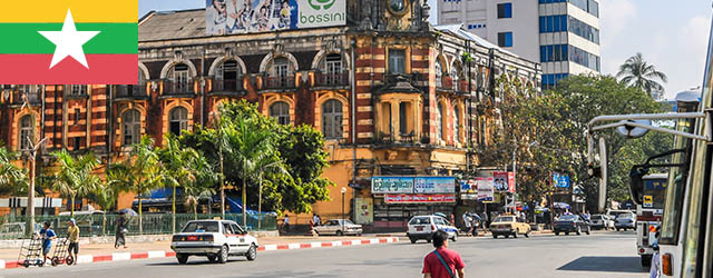 Myanmar Streets