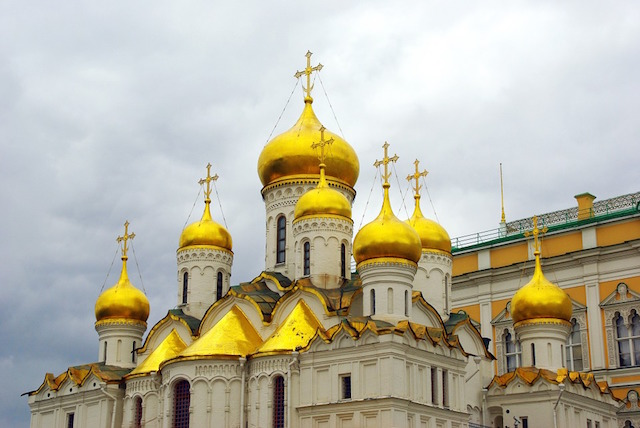 Russia church roof
