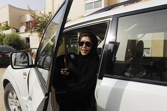 saudi arabia women drivers