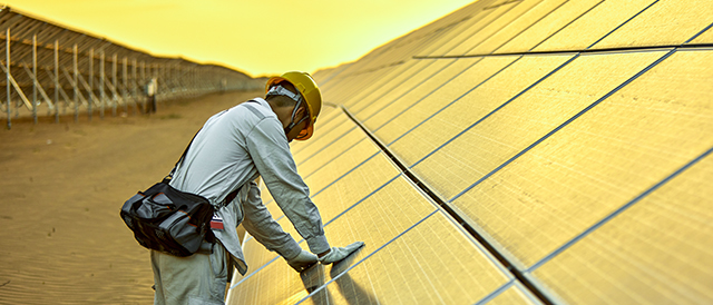 solar panels 640w