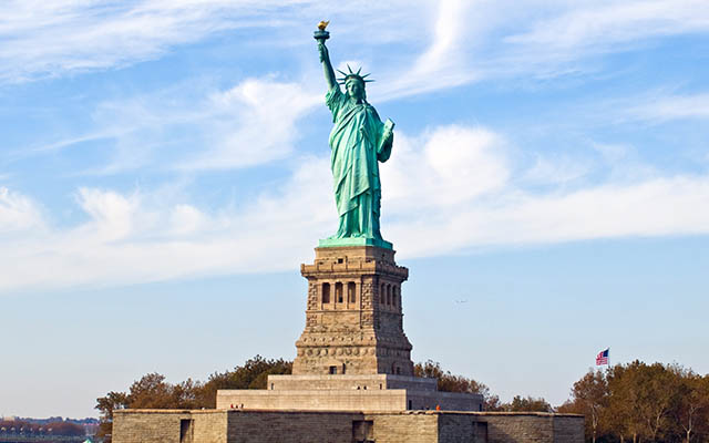 Statue of Liberty in New York, USA